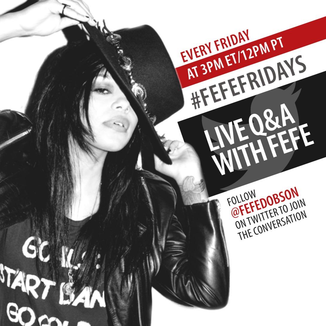 FefeDobson_#FefeFridays